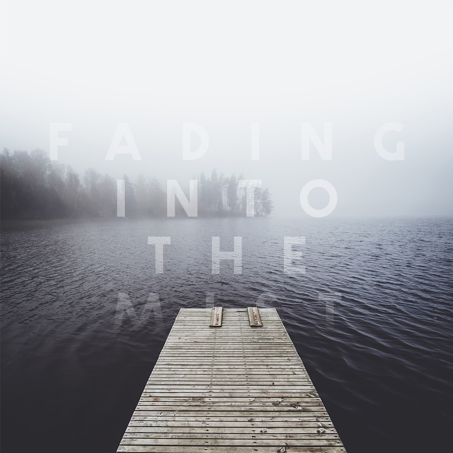 Fading into the mist – now available in the shops